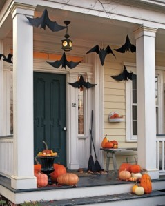 halloween house from Martha Stewart