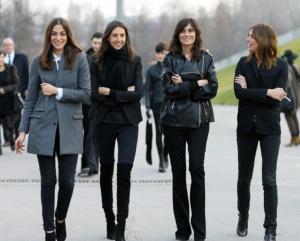 la modella mafia paris street French Vogue team