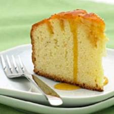 orange syrup infused pound cake