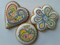 painted butter cookies 2