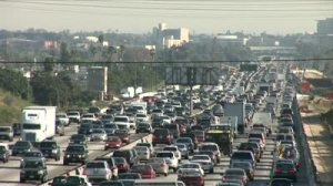 LA traffic jam