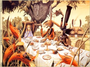 The_Mad_Hatters_Tea_Party_Wallpaper_zp9ha